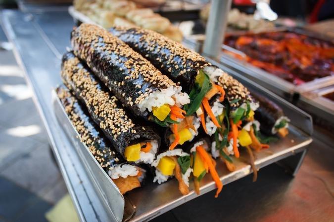 Chamchi (Tuna) Kimbap