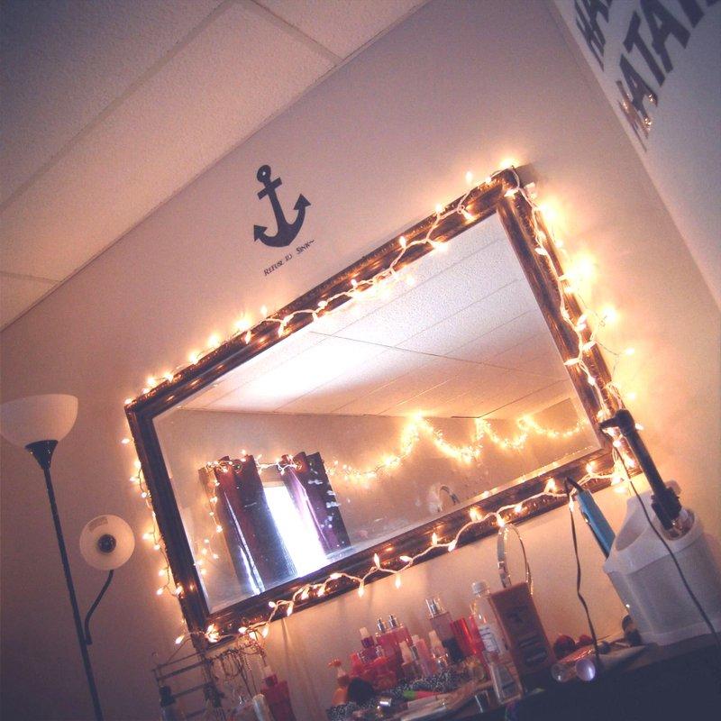 Lampu Tumblr dengan Cermin