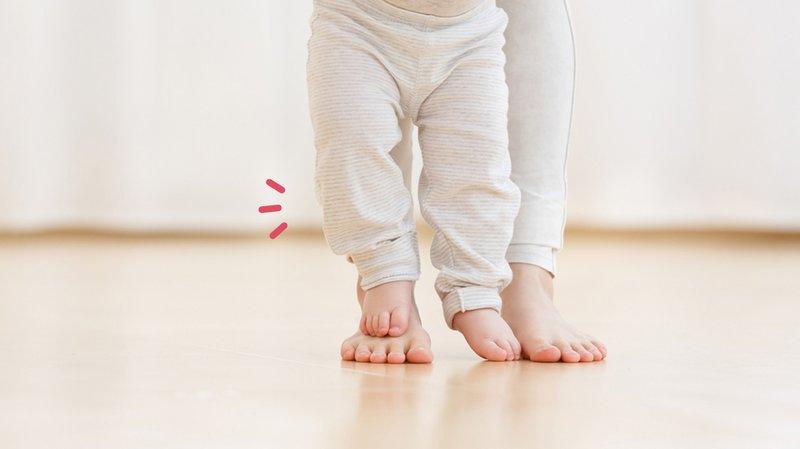 bayi mulai jalan