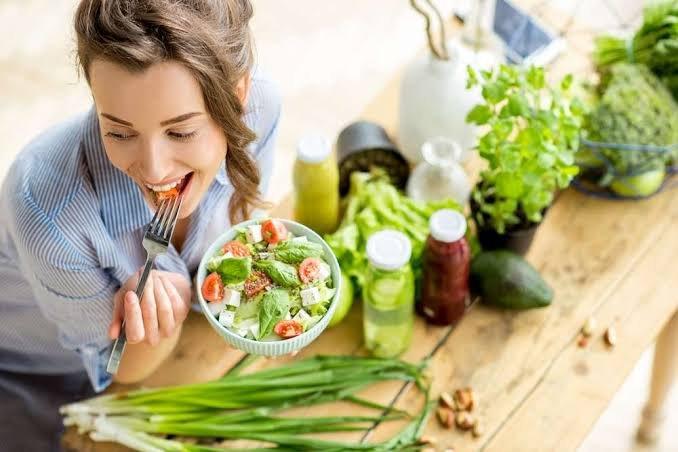 pola hidup sehat untuk mencegah kanker-makan makanan sehat