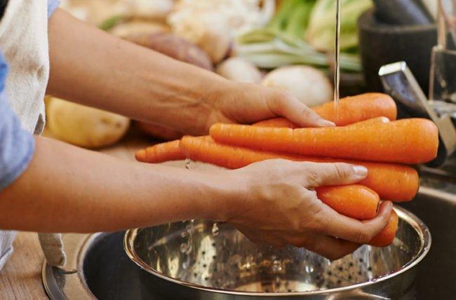 kreasi dengan wortel