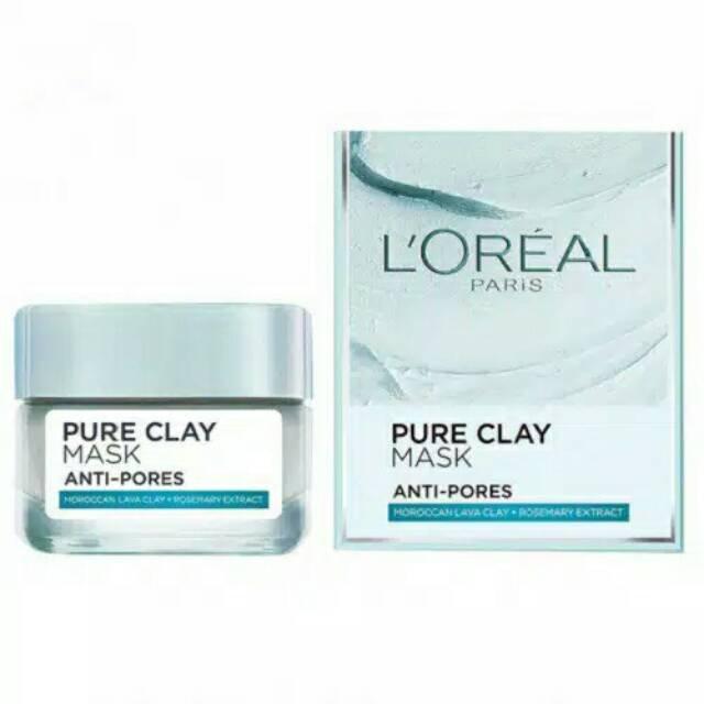 L'Oreal Paris Pure Clay Pore Refining Mask.jpg