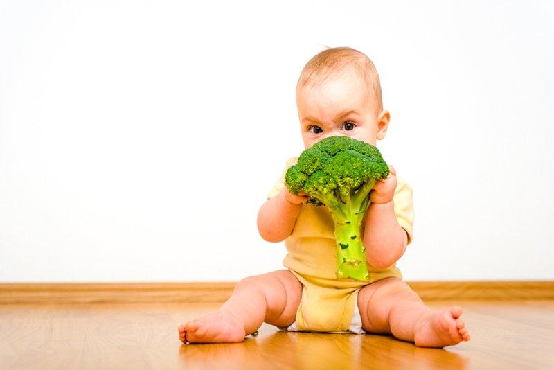 Membiasakan Bayi Menjadi Vegetarian, Perhatikan Ini! 4