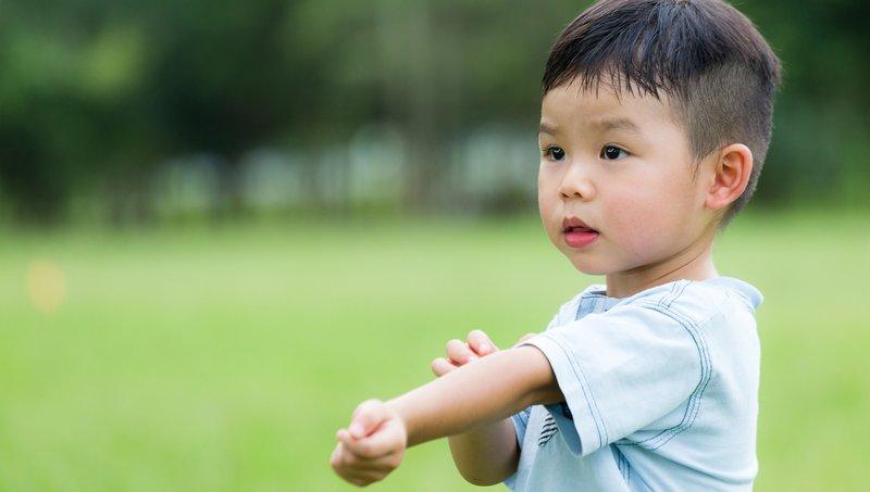 kolinergik urtikaria pada anak