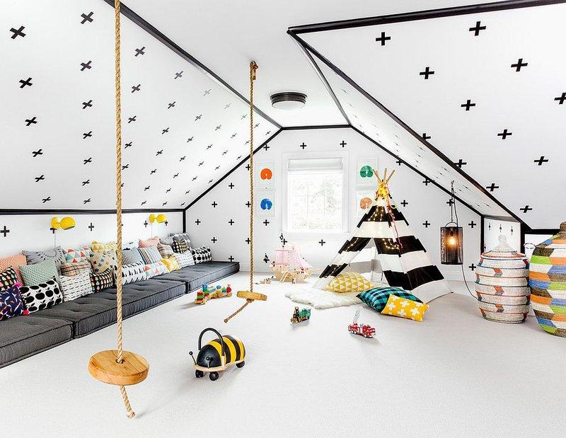 Model Loteng Minimalis untuk Ruang Main Anak