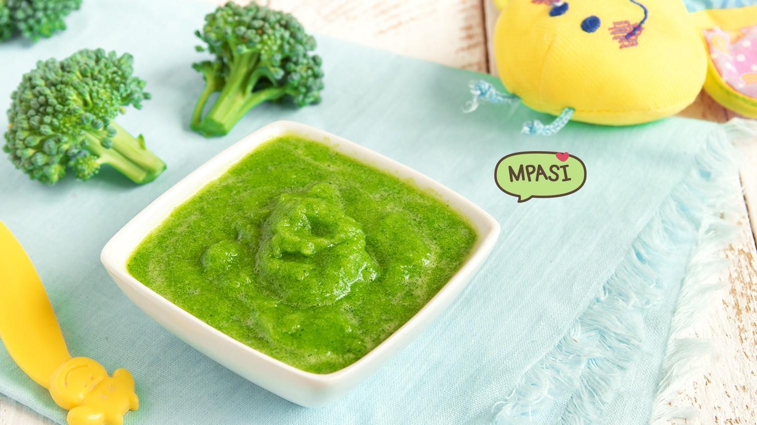 3 Resep Mpasi Bayi 8 Bulan Dengan Brokoli
