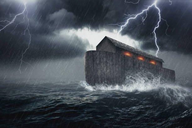 Nabi Nuh Membuat Bahtera Sesuai Perintah Allah SWT