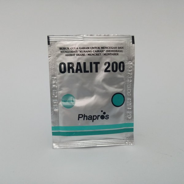 Oralit sebagai obat diare untuk anak