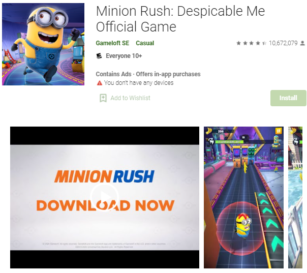 Offline Game Android Minions .png