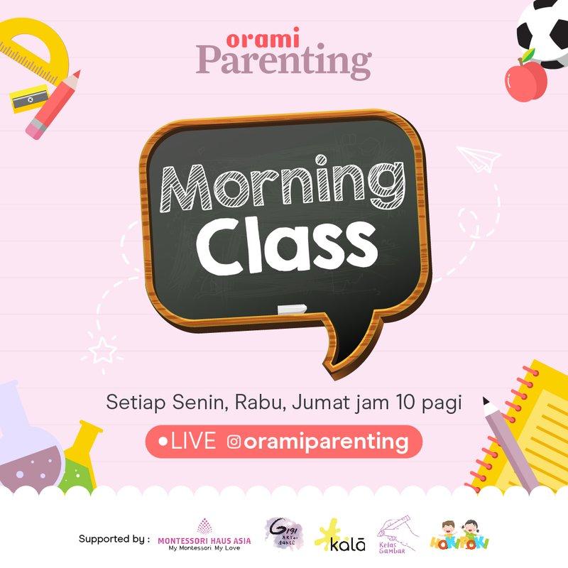 Orami Parenting Morning Class