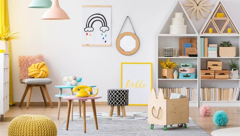 furnitur yang aman untuk kamar anak