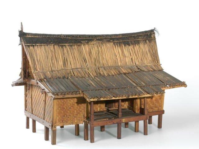 Rumah Adat Sunda Parahu Kumurep