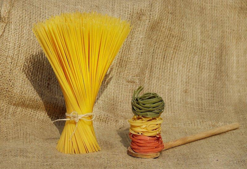 perbedaan spaghetti carbonara dan alfredo, Pasta yang Digunakan.jpg