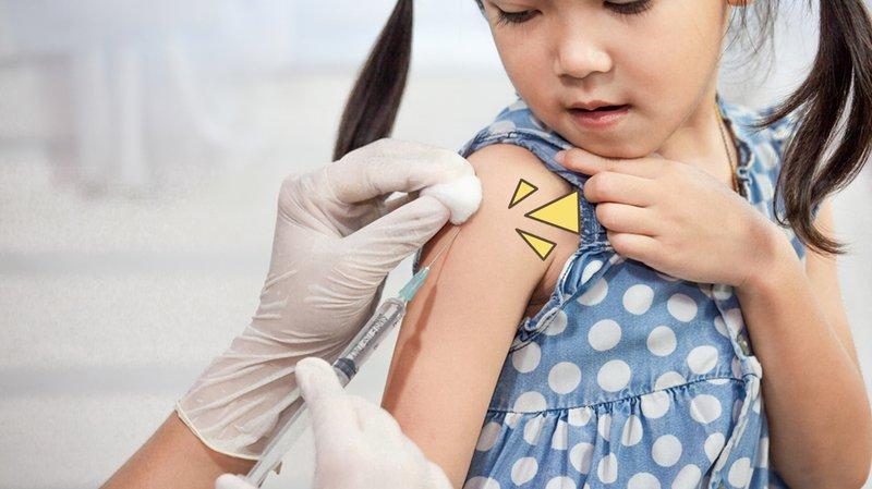 Imunisasi anak drive thru