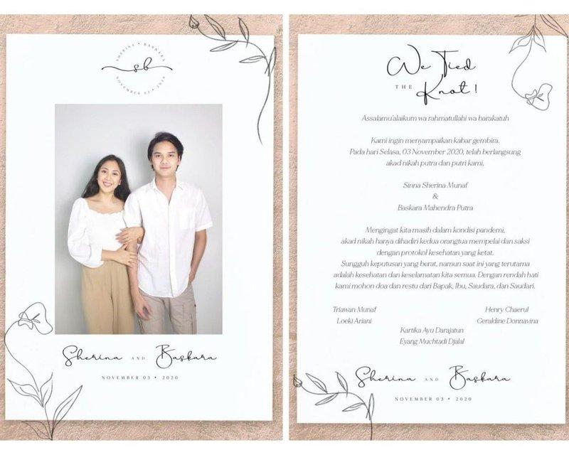 Perjalanan Cinta Sherina Munaf dan Baskara Mahendra, Selamat Atas Pernikahannya! 05.jpg