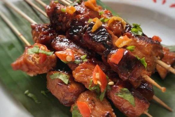 Sate tuna yang lezat juga khas Gorontalo