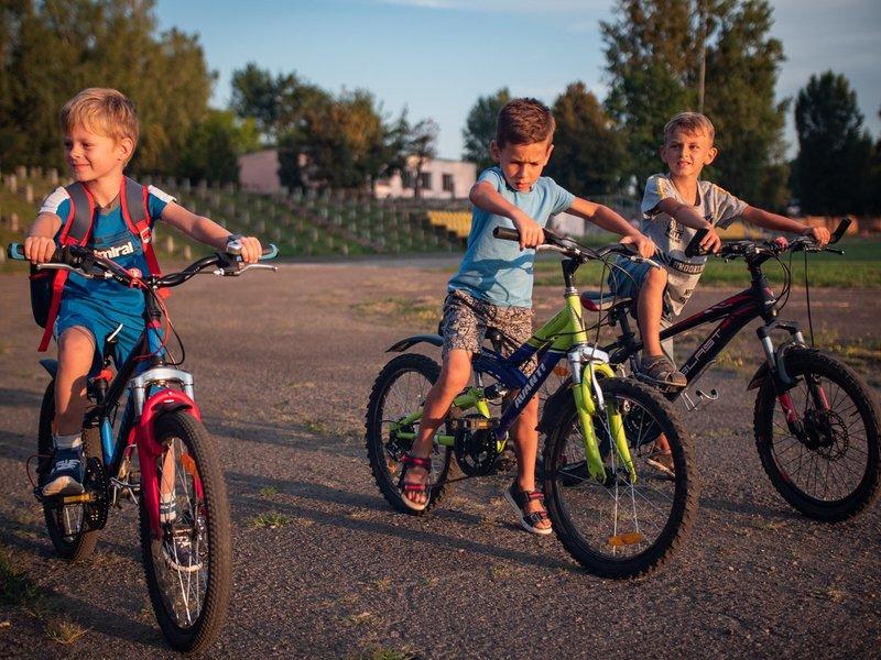 kegiatan akhir pekan-bersepeda