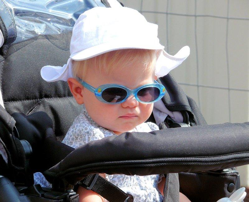 tabir surya untuk bayi