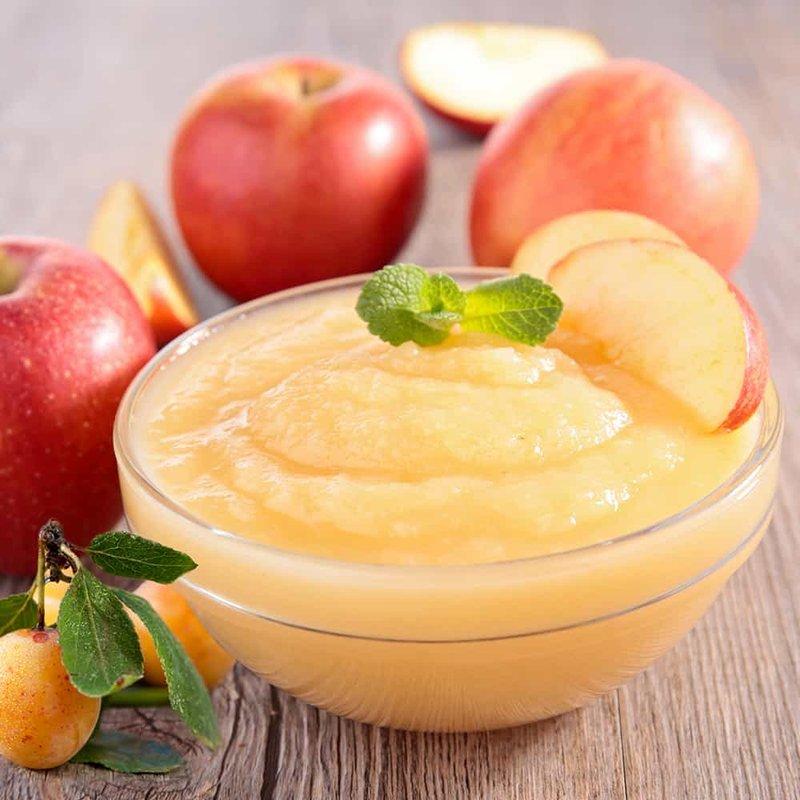 Puree Ragi Apel