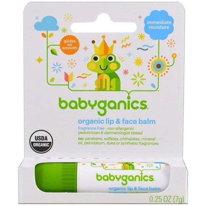 Rekomendasi Lip Balm Bayi-Babyganics Organic Lip & Face Balm.jpg