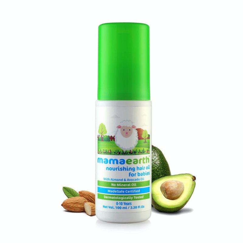Rekomendasi Minyak Rambut Bayi-Mamaearth Nourishing Hair Oil for Babies.jpg