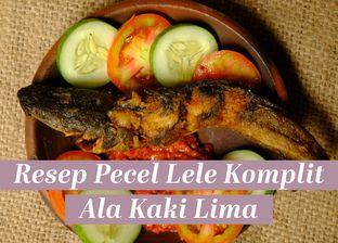 Resep Pecel Lele Komplit Ala Kaki Lima