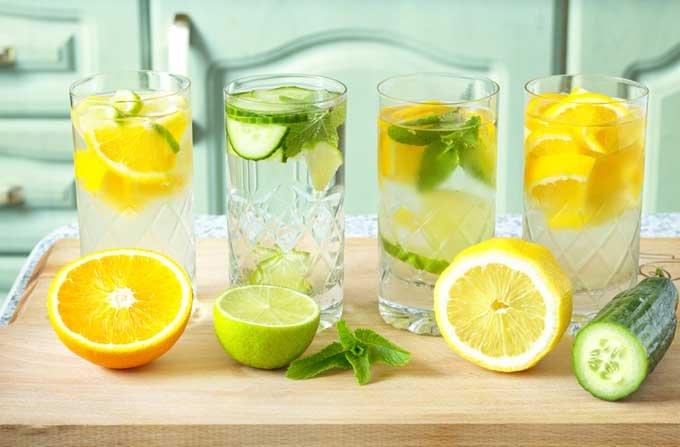 Resep Mudah Membuat Infused Water Timun