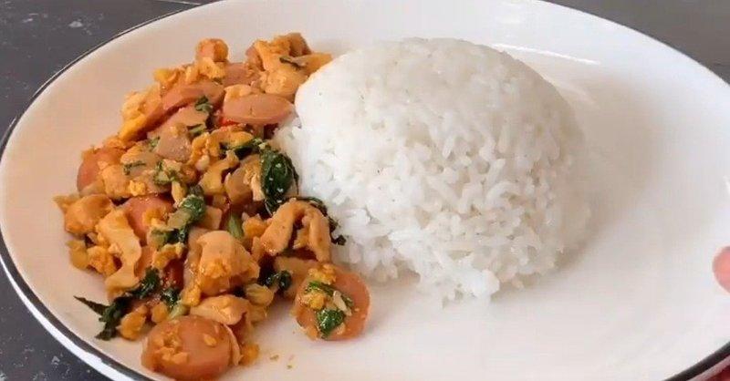 Resep Nasi Gila Tanpa Minyak untuk Diet.