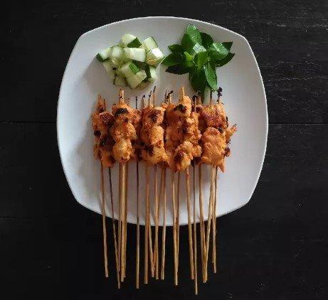 Resep Sate Ayam Bumbu Rica