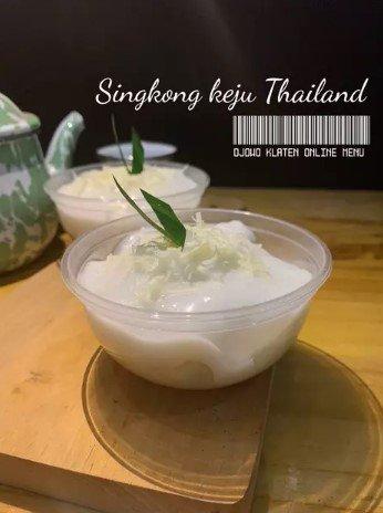 Resep Singkong Keju Thailand
