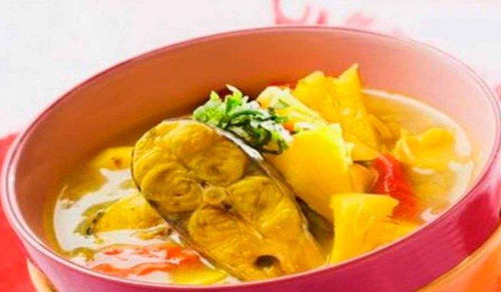 Resep Sop Ikan Patin Bumbu Kuning