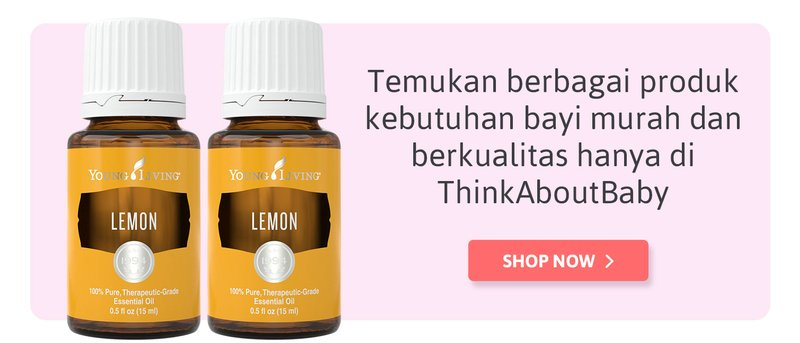 review young living lemon, bisa dibeli di think about baby