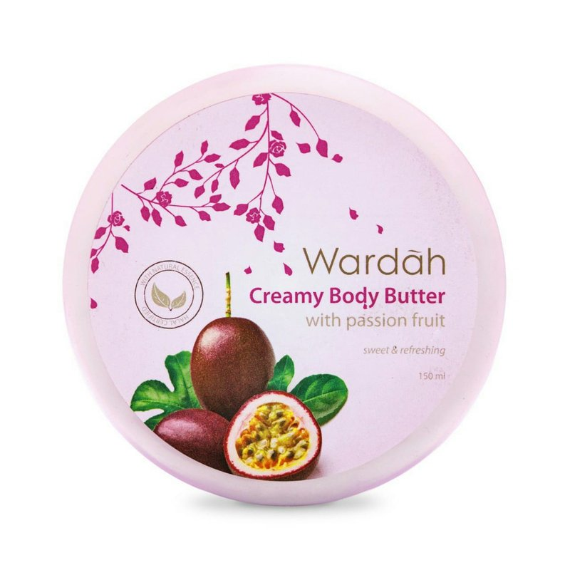 Review Body Lotion Wardah Creamy Body Butter with Passion Fruit.jpg
