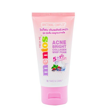 Mentos Fresh Me Acne Bright Collagen Whip Foam.jpg