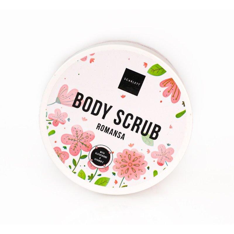 review body scrub scarlett romansa
