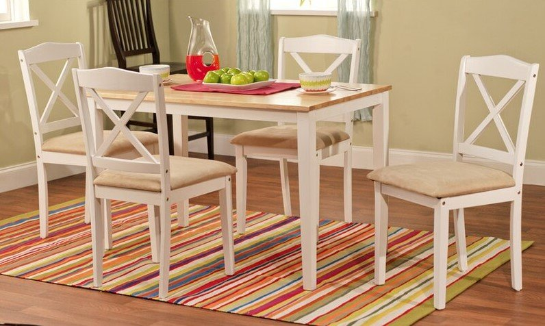 Meja makan minimalis tradisional