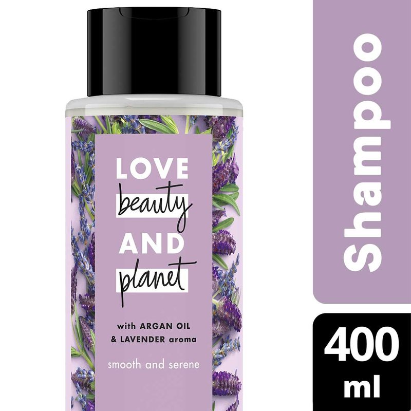 Love Beauty & Planet Smooth and Serene, Argan Oil & Lavender Shampoo .jpg