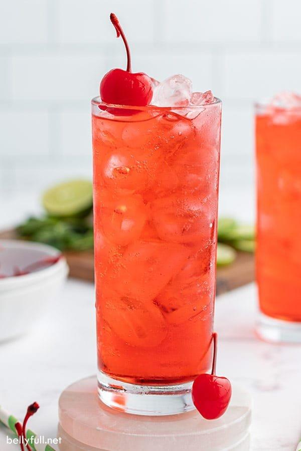Holiday Shirley Mocktail