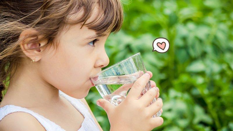Kebutuhan air pada anak