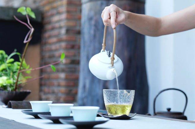 Slimming Tea, Teh Hijau
