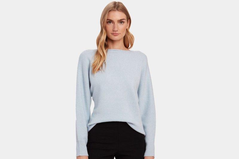 Sweater dari bahan Kasmir