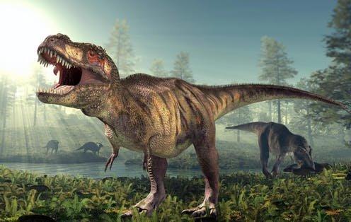 T-rex Dinosaurus