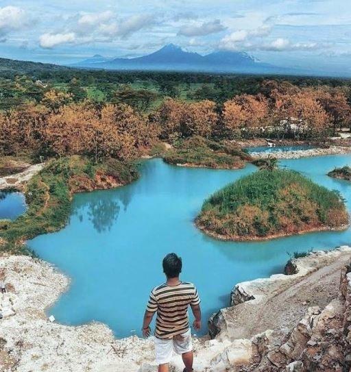 Telaga Biru Wisata Gunung Kidul