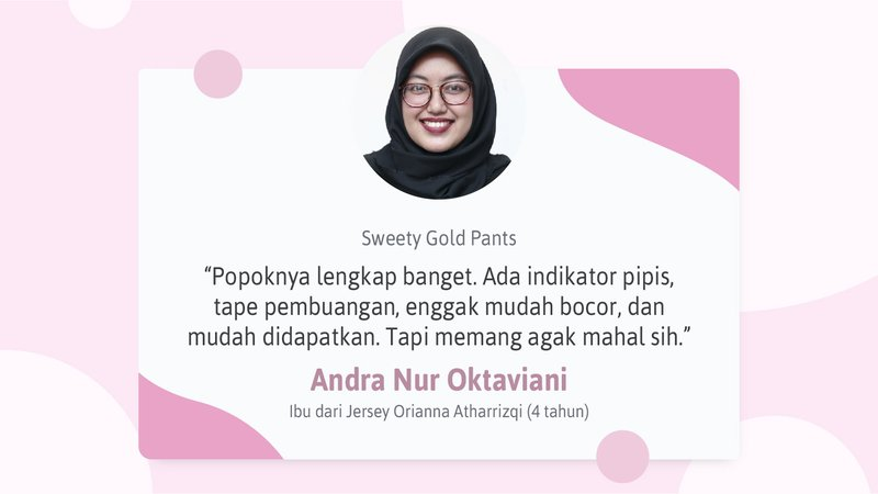 Testimoni-sweety-gold-pants