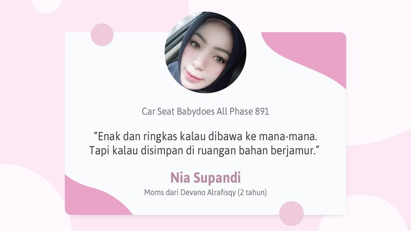 Testimoni Review Car Seat Babydoes All Phase 891