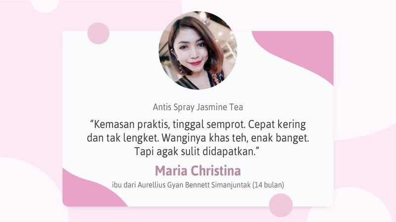 Review Antis Spray Jasmine Tea