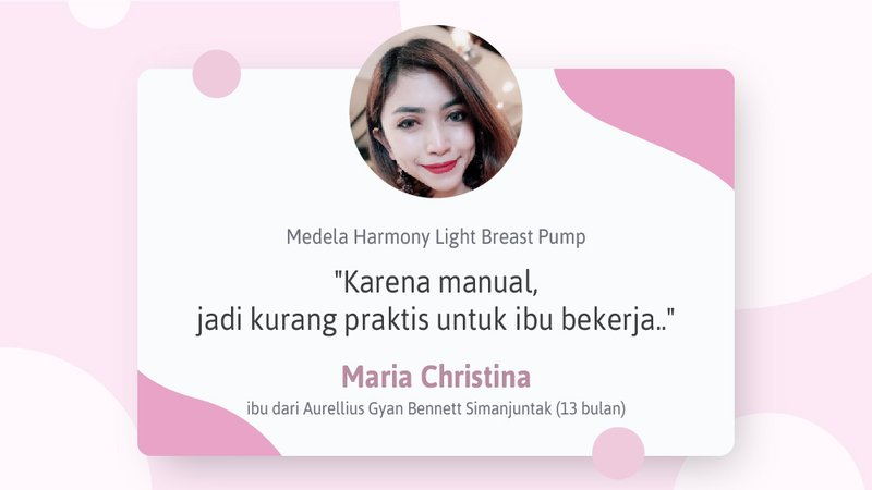 Review Medela Harmony Light Breast Pump