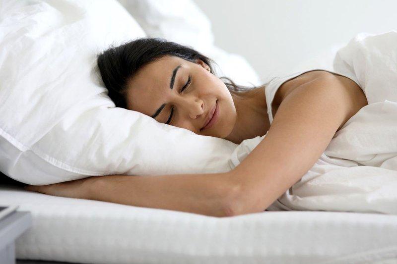 cara kurus yang aman-tidur cukup