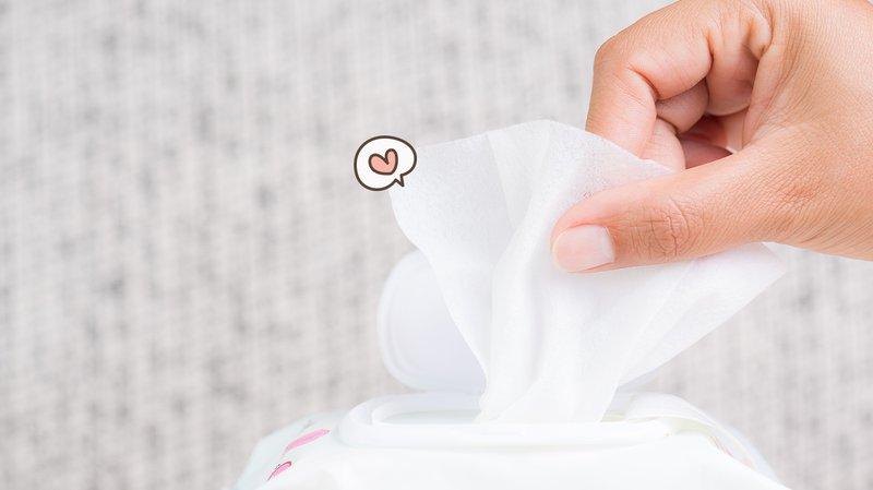 memilih tisu basah bayi
