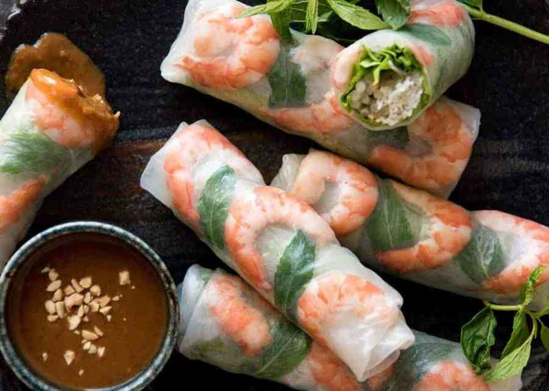 Resep spring roll vietnam